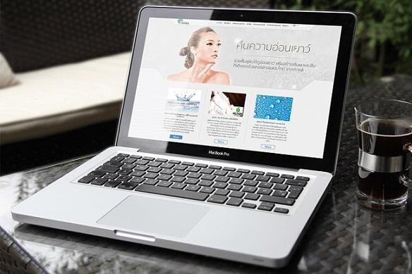 طراحی سایت لوازم آرایشی
