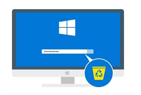 حذف رمز ورود در ویندوز