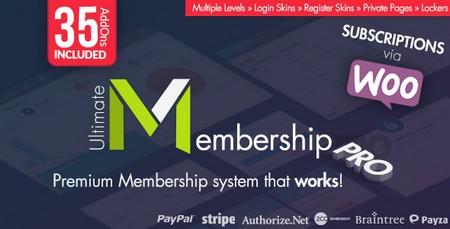دانلود افزونه عضویت ویژه Ultimate Membership Pro