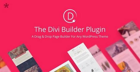 دانلود افزونه وردپرس صفحه ساز Divi Builder