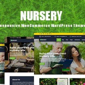 قالب کشاورزی وردپرس Nurseryplant