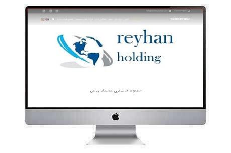 طراحی سایت شرکتی هلدینگ